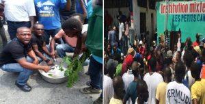 Haiti: Manifestation contre le vote du projet de Budget 2017-2018