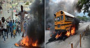 Haiti: Violente manifestation dans les rues de Port-au-Prince contre le vote du budget