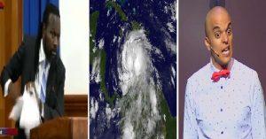 Haiti: Le comédien Rachid Badouri propose d'appeler un ouragan qui menace Haiti Don Kato