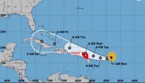 Haiti: L'ouragan IRMA se renforce, la Protection Civile se prépare à toute éventualité