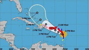 Haïti : Alerte orange au passage du puissant ouragan Maria près des côtes Nord