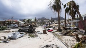 Monde: Le gouvernement français critiqué après le passage de l'ouragan Irma dans les antilles