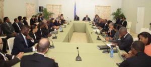 Haiti: Le Président et le secteur privé autour de l'organisation du Forum sur la compétitivité et l'investissement