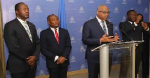 Haiti: Le PM Jack Guy Lafontant fait le point sur les grandes actions de son Gouvernement