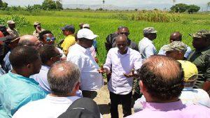Haiti: Le président de la BID promet 1 milliard de dollars U$ à la Caravane du Changement
