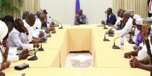Haiti: Le Président de la République rencontre des représentants du secteur vodou