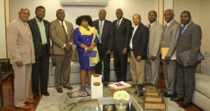 Haiti: Le Président de la République rencontre la Fédération Protestante d'Haïti
