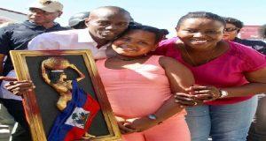 Haiti: Le couple présidentiel à la deuxième journée de Artisanat en fête