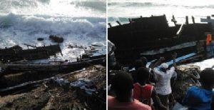 Haiti: Une quarantaine de disparus dans le naufrage d'un bateau de migrants