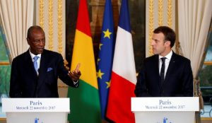 Alpha-Condé-Emmanuel-Macron