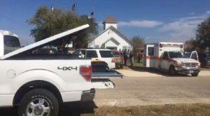 Fusillade-église-Texas