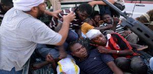Une pétition pour protester contre l'esclavage des migrants en Libye