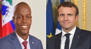 Haiti: Le Président Jovenel Moïse s'entretiendra avec son homologue français Emmanuel Macron