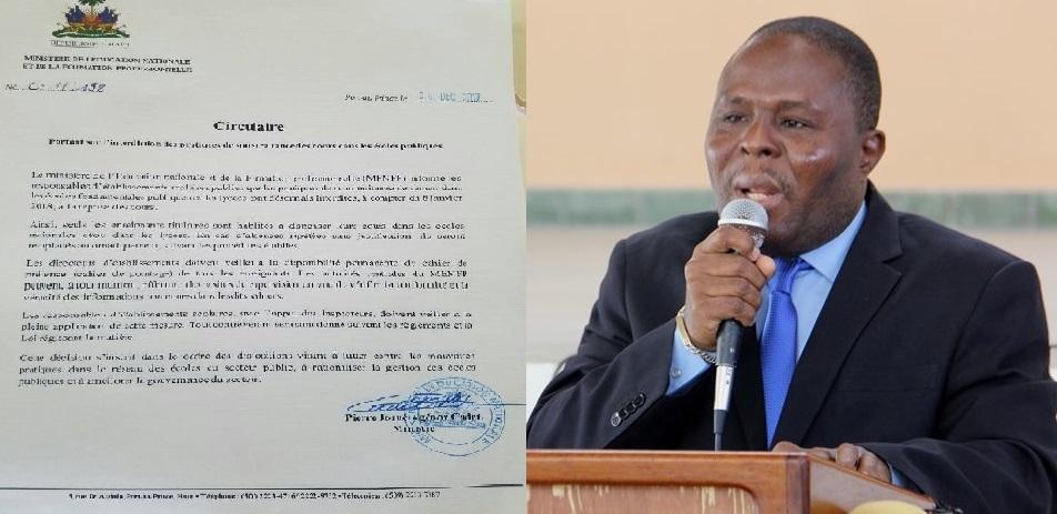 Haiti: L'État prévoit un montant forfaitaire d'accompagnement pour les écoles et universités privées