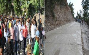 Haiti: La nouvelle route en béton d'Anbakan à Camp-Perrin ouverte à la circulation