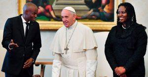 Monde: Le Pape François dit Oui au Président Jovenel Moïse pour une visite officielle en Haïti