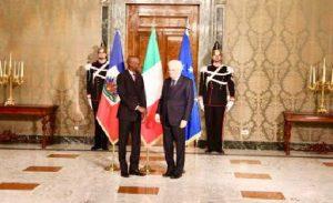 Monde: Renforcement de la coopération bilatérale entre Italie et Haiti