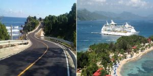 Haiti:  Jovenel Moïse « L'inauguration de la route de Labadie, un rêve devenu réalité »