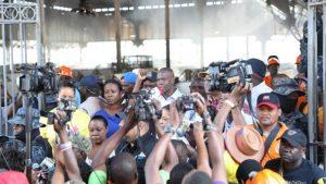 Haiti: Le gouvernement confirme ses promesses aux victimes de l'incendie des marchés Hypolithe et Panama