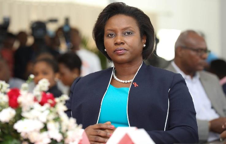 Haiti: La Première Dame de la République annule sa visite à Washington