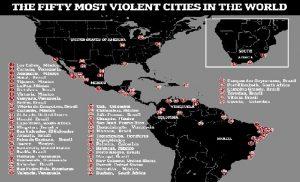 Monde: Aucune ville d'Haiti parmi les villes les plus dangereuses du monde