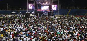 Haiti:  Grande campagne évangélique des adventistes du 7ème jour au Stade Sylvio Cator