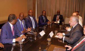 Monde: Rencontre entre le Secrétaire américain Ad Interim John J. Sullivan et le Président Jovenel Moïse