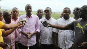 Haiti: Le Président Jovenel Moïse s'engage à accompagner les riziculteurs de la Vallée de l'Artibonite
