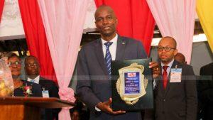 Haiti: Jovenel Moïse honoré par la Mission des Églises Baptistes du Sud MEBSH