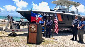 Haiti: Coopération américaine avec la Garde-côtière et la Police Nationale