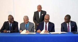 Haiti: Signature du protocole d'entente entre l'Etat et l'Université d'Etat d'Haïti (UEH)