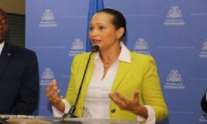Haiti: La Directrice Général IBESR, Mme Arielle Jeanty Villedrouin, en faveur des maisons d'accueil