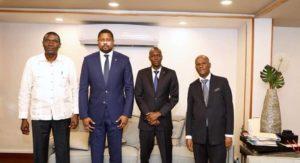 Haiti: Rencontre au Palais National des représentants des trois pouvoirs de l'Etat