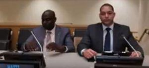 Monde: Jacques Sauveur Jean et François Nicolas Duvalier aux Nations Unies