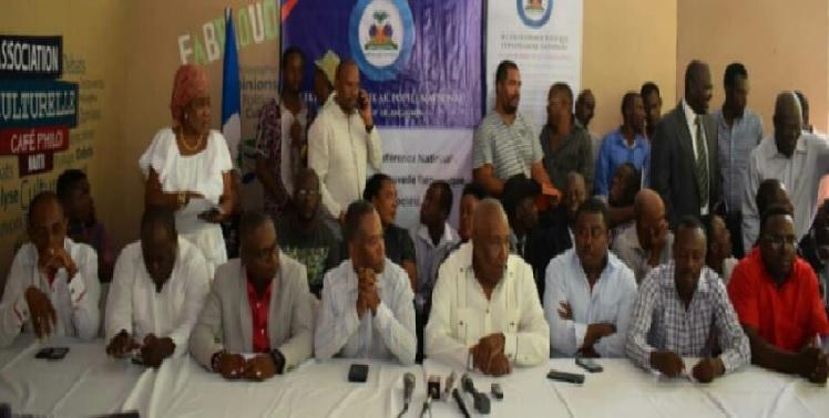 Haiti: L'opposition radicale met en place une commission de facilitation de passation de pouvoir