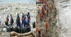 Monde: Les plages dominicaines attaquées par des vagues de déchets en plastique