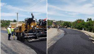 Haiti: Début des travaux d'asphaltage de la ville de Jérémie