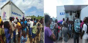Haiti: Le programme «Cantine mobile» victime des émeutes est suspendu temporairement