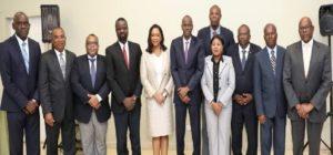Haiti: Jovenel Moise reçoit au Palais National le Conseil Supérieur des Salaires