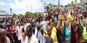 Haiti: Remise par Jovenel Moise d'un lot de camions compressifs aux Mairies pour la gestion des déchets