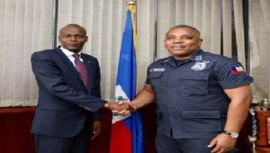 Haiti: Le Président Jovenel Moïse renouvelle sa confiance au DG de la Police Nationale