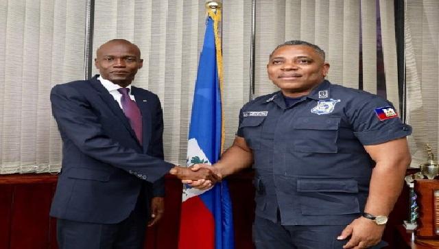Haiti: Jovenel Moïse salue le travail acharné de la Police Nationale d'Haïti