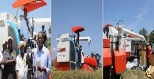 Haiti:  La production du riz dans la Vallée de l'Artibonite rentre dans la modernité