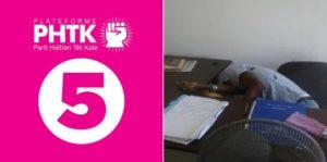 Haiti: Le Parti Haitien Tèt Kale (PHTK) condamne l'assassinat de leur militant Todly Pierre Raymond
