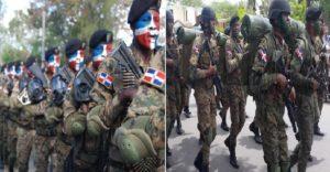 Monde: Plus de 7,000 hommes dont 78 postes militaires surveillent la frontière dominicaine