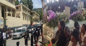 Haiti: Funérailles des cinq membres de la famille Pierre Louis retrouvés morts dans leur maison