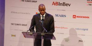 Monde: Intervention du Président Jovenel Moise sur les méfaits du réchauffement climatique à New York