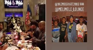 Monde: Naomi Osaka au restaurant haïtien Meli Melo pour célébrer sa victoire