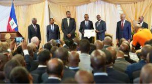 Haiti: Le premier ministre Jean Henry Céant investi officiellement dans ses fonctions