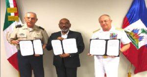 Monde: Accord entre le Mexique et Haiti en matière de défense et de formation militaire